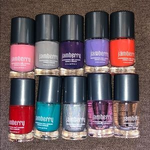Lot of 10 Jamberry Polishes